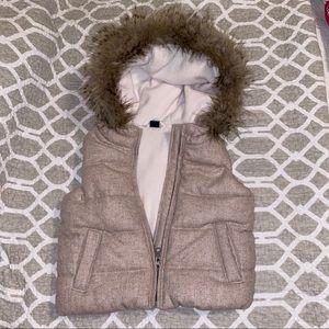 Girl's Gap puff vest